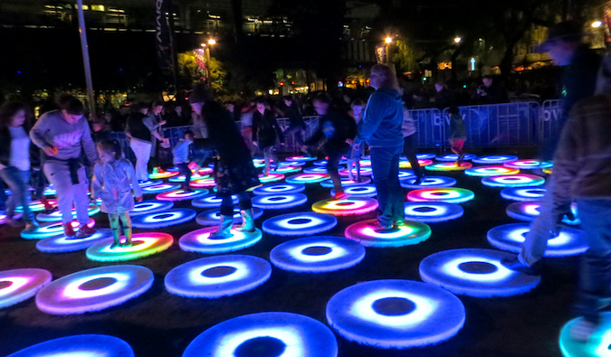 Vivid Sydney light up cultural festival