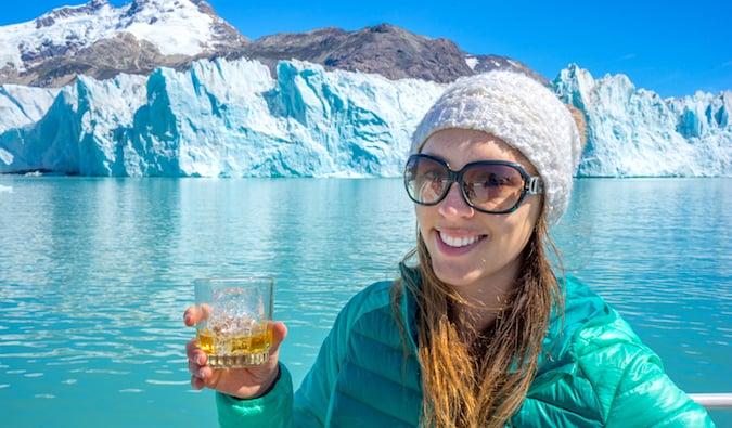 The O'Higgins Glacier