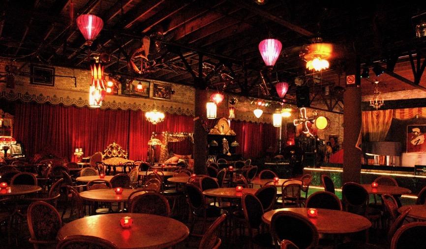 an empty Jazz bar