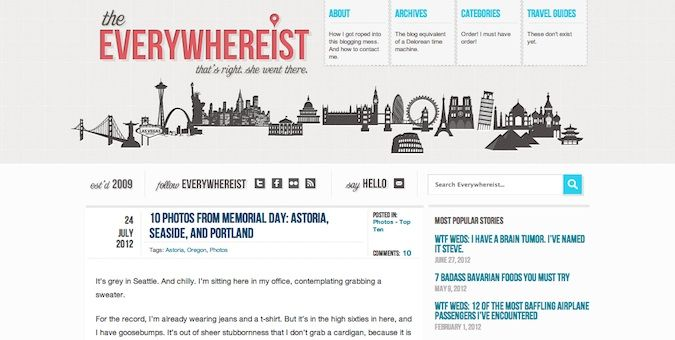 the everywhereist logo