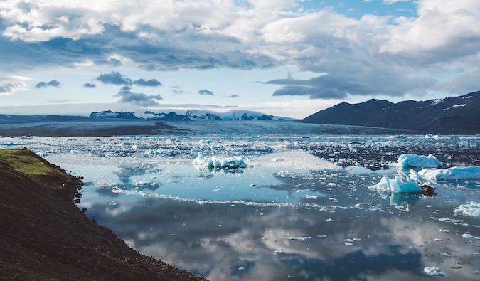 Iceland's Glacial Lagoon