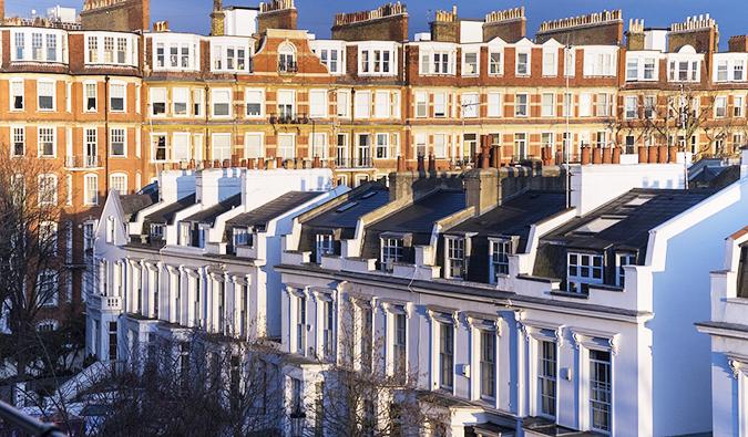 Kensington's mansion-lined streets