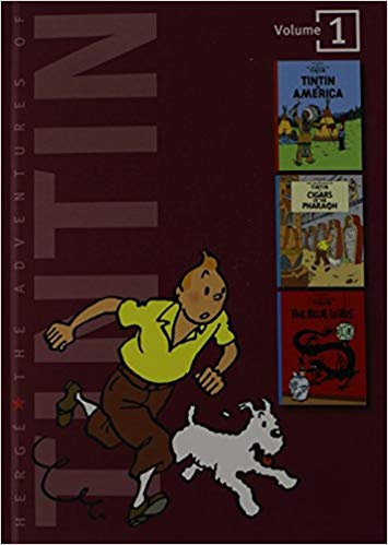 The Adventures of Tintin, by Hergé