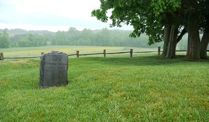 Grave of Stonewall Jackson