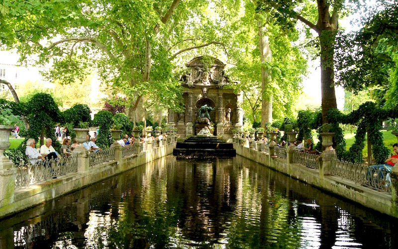 5 day guided tour of paris for Cafe jardin du luxembourg