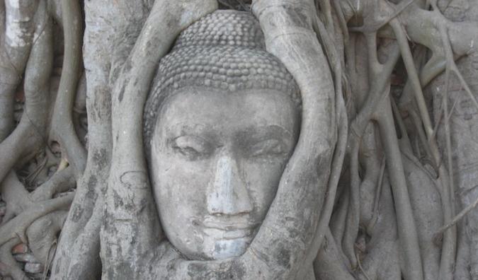 Sukkothai historic ruins