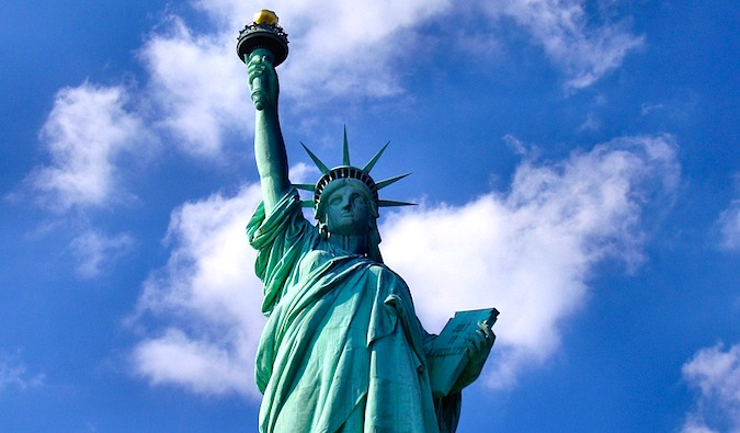 Some New Yorkers have never seen the Statue of Liberty