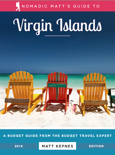 nomadic matt's guide to the virgin islands