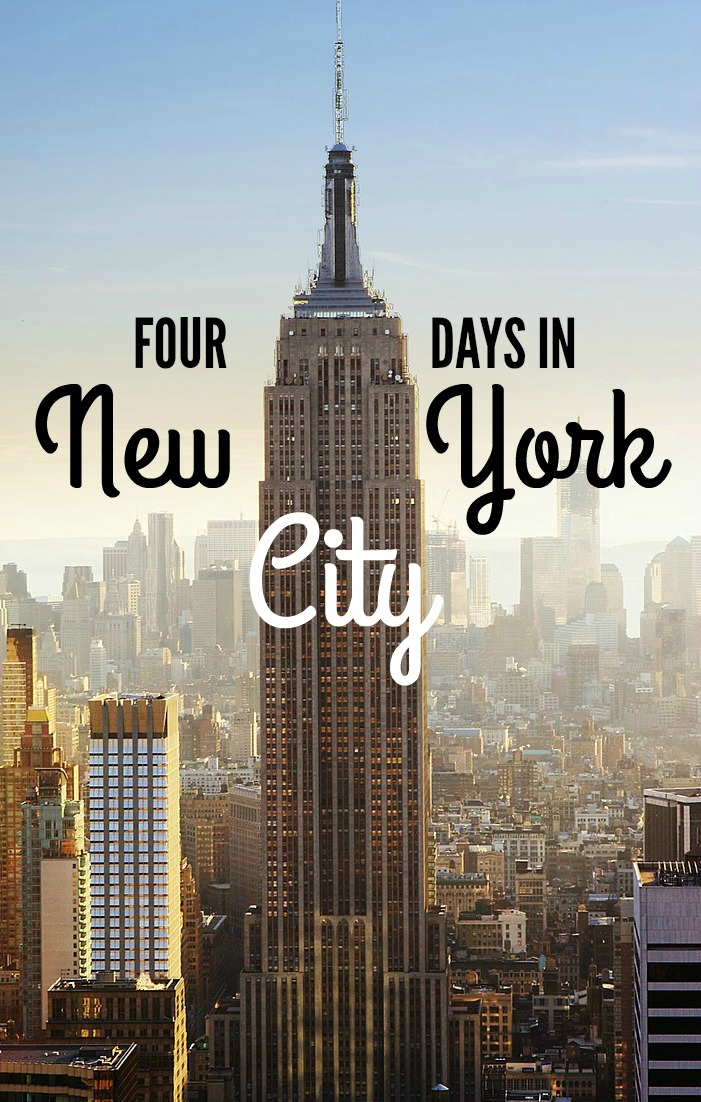 How to spend four days in new york city nomadic matt 39 s for Christmas trips to new york