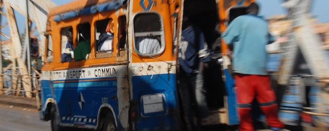 Public buses are a popular mode of transportation in Africa