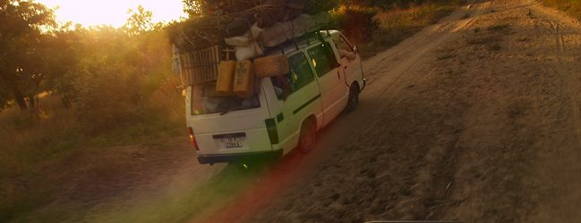 Getting from place to place in a minivan is a great way to travel around Africa