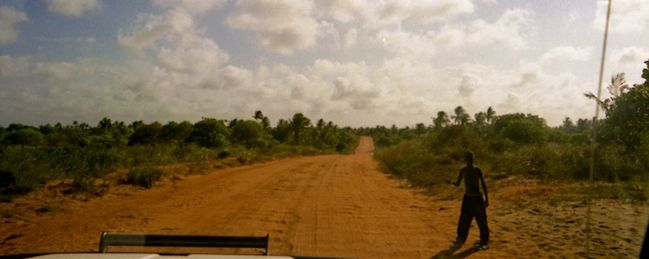 Hitchhiking is a great way to travel around Africa