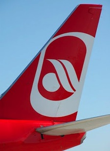 air berlin tail and logo