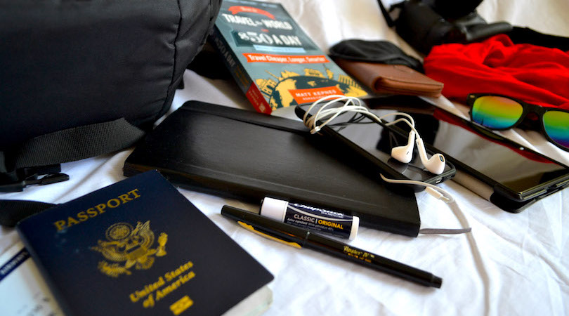 Some of the things I pack with me on my travels