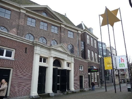 The Amsterdam Jewish History Museum from the city street