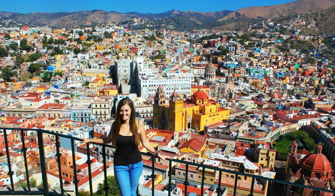 Lauren travels to Guanajuato to see the colorful homes