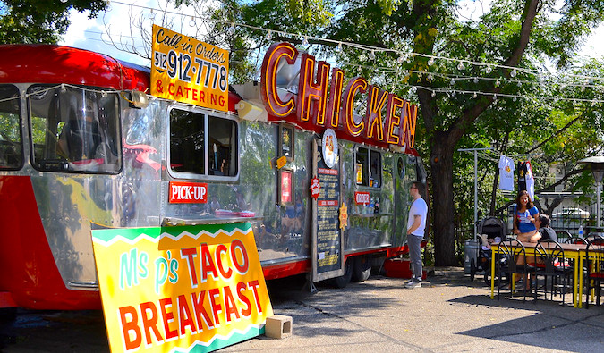 Food truck in Austin, Texas