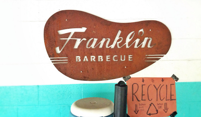 Franklin Barbecue, the most popular BBQ place in Austin, TX
