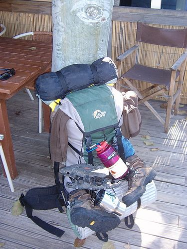 Backpackers gear