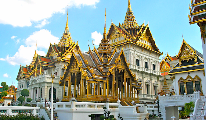 Golden Palace in Thailand