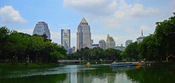 Lumpini Park in Bangkok, Thailand