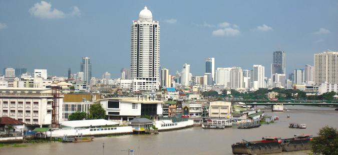 back in bangkok, thailand