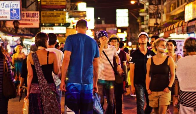 Partying in Bangkok