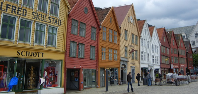 bergen norway fish market
