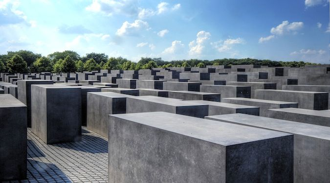 A photo of the Shoah Museum in Berlin, Germany