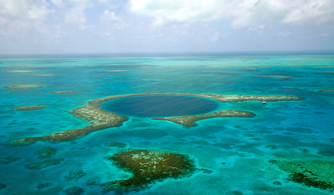 The Blue Hole Scuba Diving