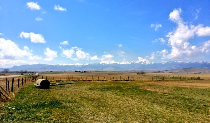 the majestic rolling plains of montana