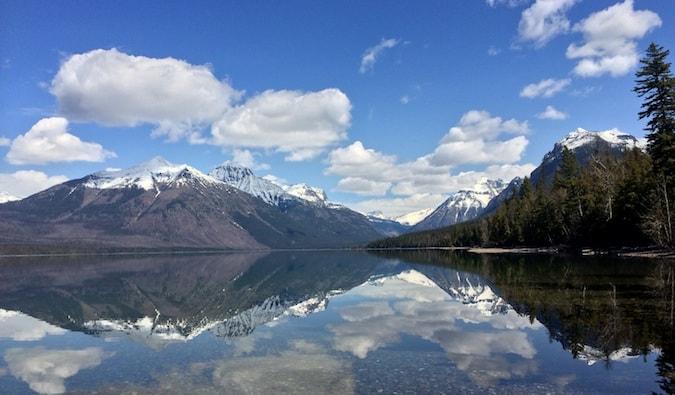 awe-inspiring views at the glacir national park