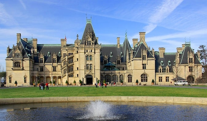 downton abbey mansion in asheville