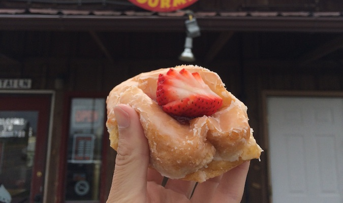 granny's best strawberry donuts in bozeman
