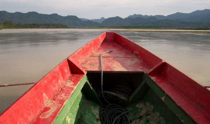 canoe trip in the bolivian amazon rainforest