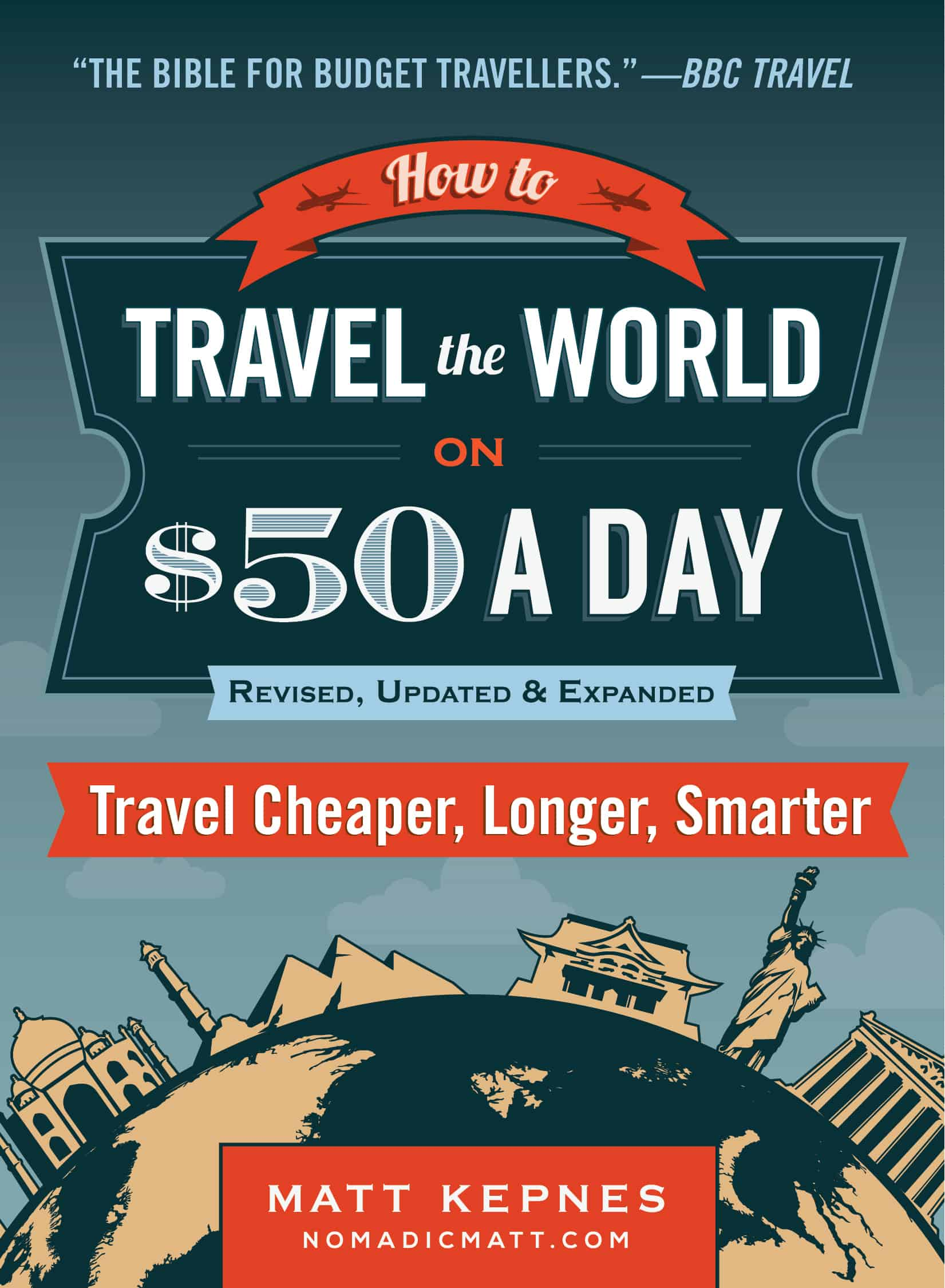 How to Travel the World on $50 a day book cover