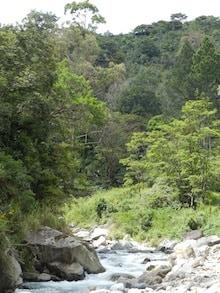 river near boquete, panama