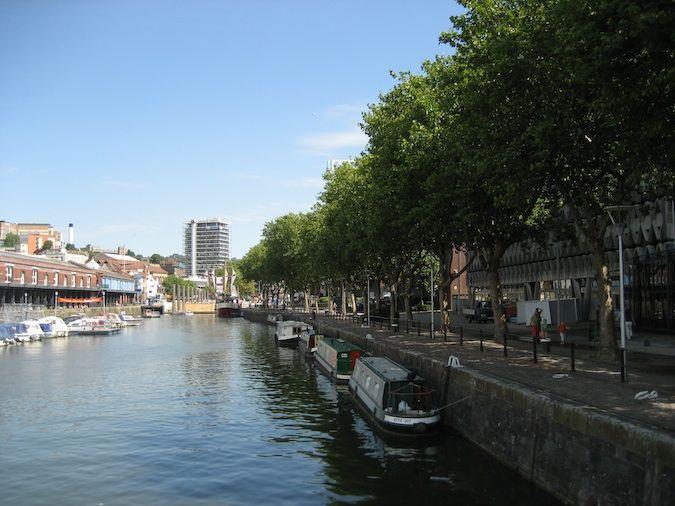 Bristol England fountain