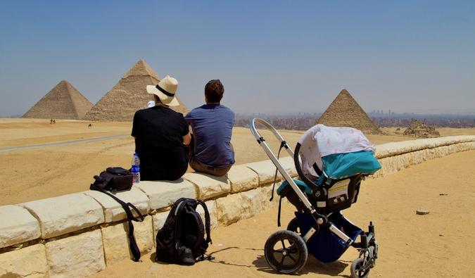Brook Silva-Braga in Egypt