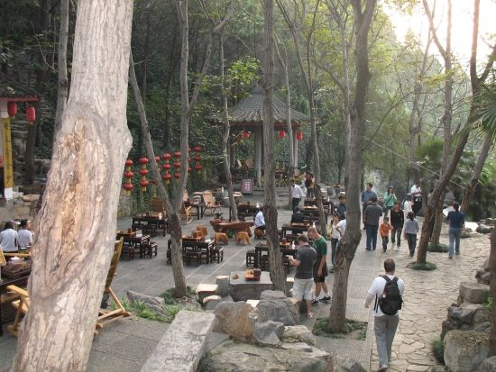 Buddha Teahouse at the longmen caves