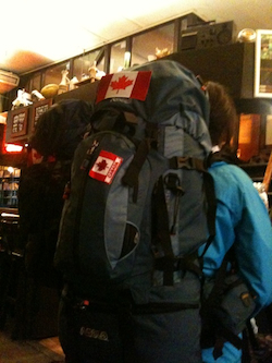 canadian backpackers
