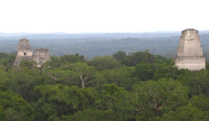 tikal is a cheap place to travel