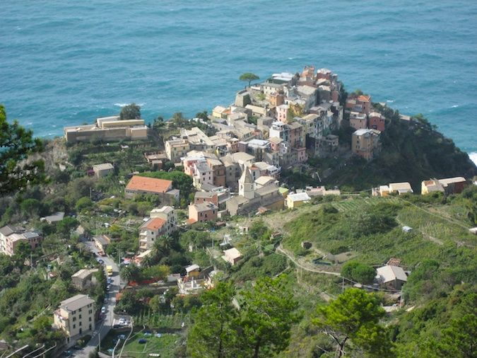 Corniglia to Vernazza is one of the hardest parts