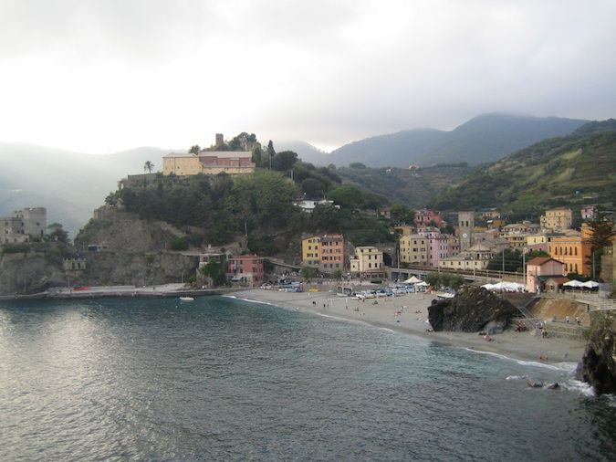 Cinque Terre town in Italy beautiful