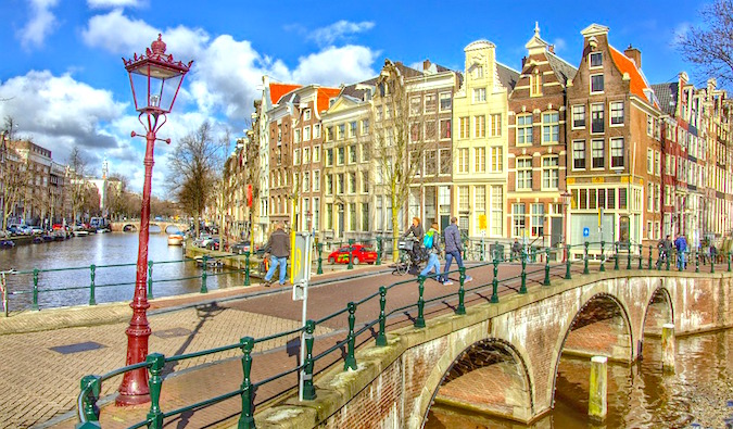 the city of amsterdam buildings