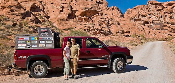 transamerica karen and eric is a couple that travels together with their truck