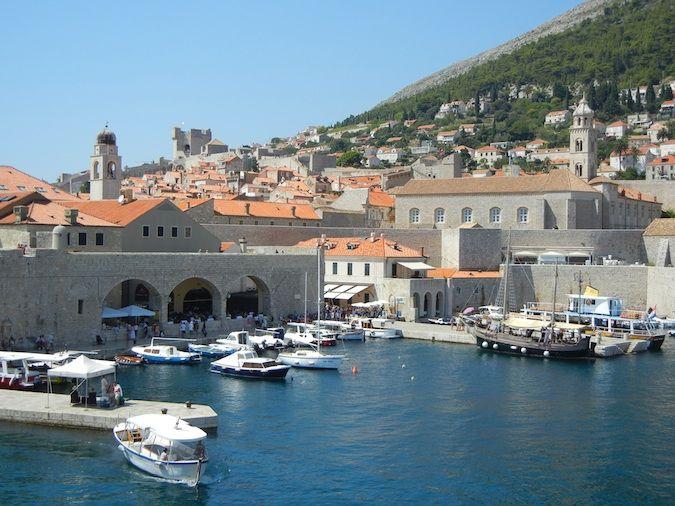Dubrovnik's harbor