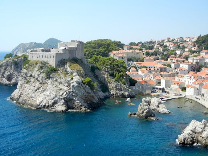 Dubrovnik from the wall