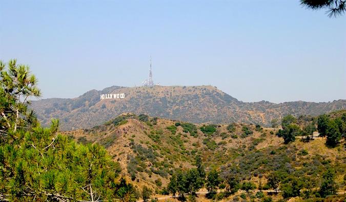 Hollywood, near Los Angeles CA - a city I'm not a fan of