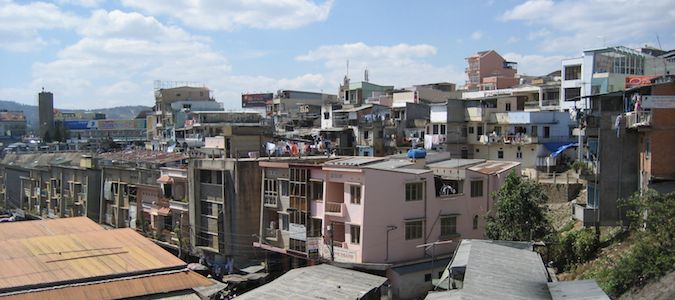the skyline of dalat vietnam